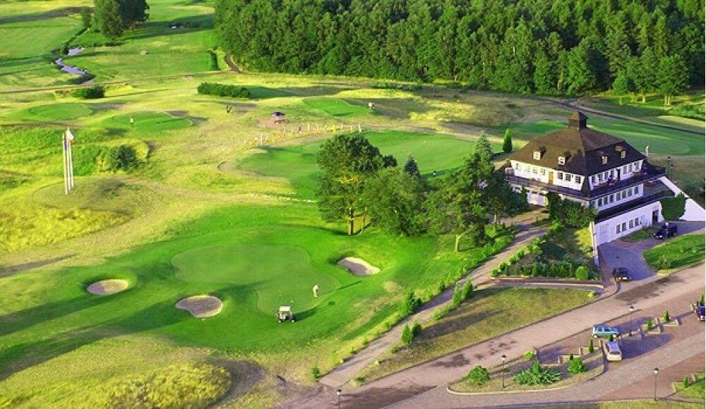 Pole golfowe w Kołczewie